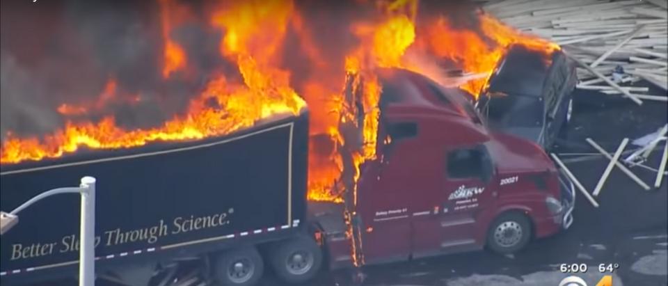 A crash killed multiple people in Colorado. Screenshot/YouTube/CBS Denver