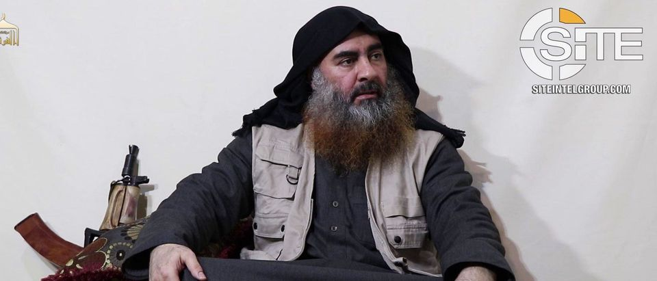 ISIS' Furqan issues new video showing leader Abu Bakr al-Baghdadi, Photo courtesy of SITE Intelligence Group