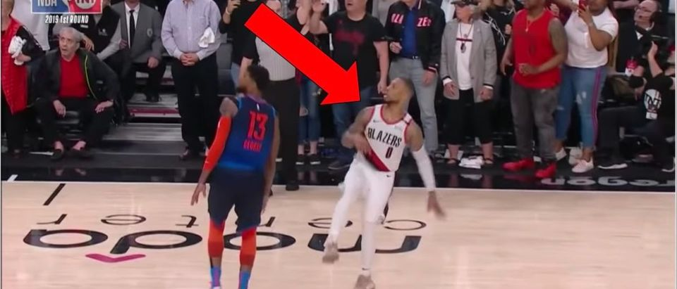 Damian Lillard (Credit: Screenshot/YouTube Video https://www.youtube.com/watch?v=uiQFVjyP148)