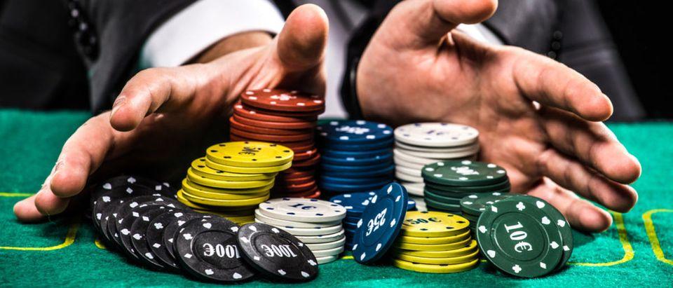 Gambling (Credit: Shutterstock/F8studio)