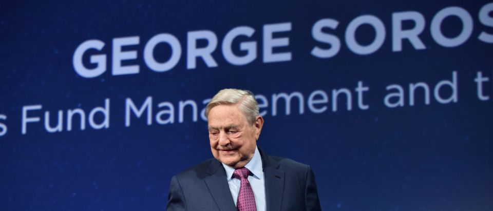 George Soros attends 2016 Concordia Summit - Day 2 at Grand Hyatt New York on Sept. 20, 2016 in New York City. (Photo by Bryan Bedder/Getty Images for Concordia Summit)