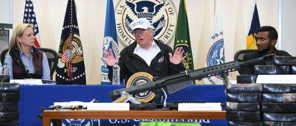 Trump at Department of Homeland Security