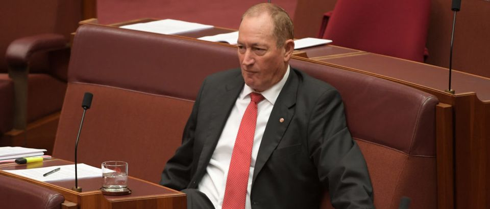 Fraser Anning Arrives At Parliament As He Faces Censure Motion