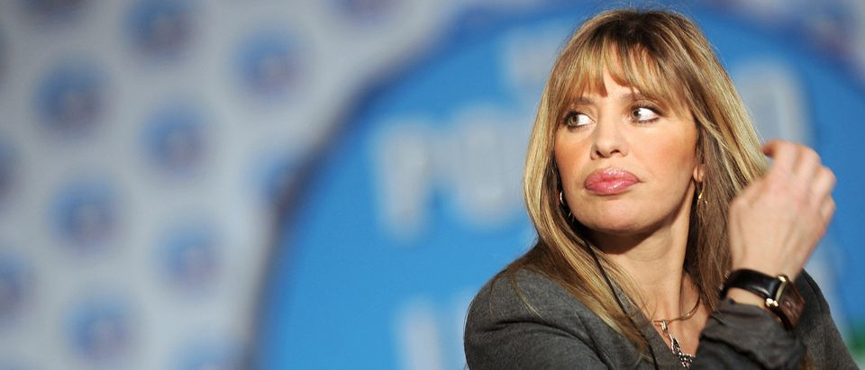 Italy's far-right Alessandra Mussolini w