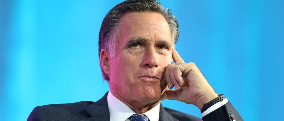 Mitt Romney Addresses Silicon Slopes Summit In Salt Lake City