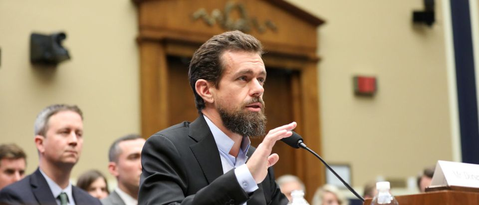 Twitter CEO Jack Dorsey testifies before the House Energy and Commerce Committee hearing on Capitol Hill in Washington, U.S., September 5, 2018. REUTERS/Chris Wattie