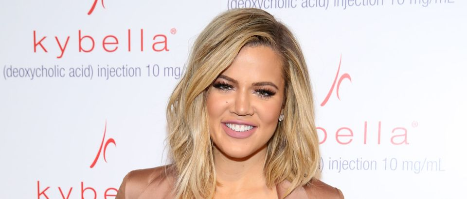 Khloe Kardashian Kicks Off KYBELLA Movement At Allergan Event (Photo by Cindy Ord/Getty Images for Allergan)