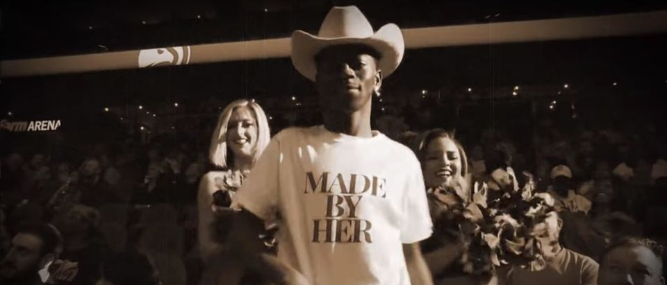 Lil Nas X (Credit: Screenshot/YouTube Video https://www.youtube.com/watch?v=gUcisIlT7sM)