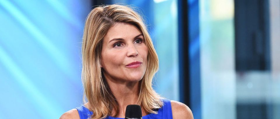 "Actress Lori Loughlin visits the Build Series to discuss the show ""Fuller House"" at Build Studio on August 3, 2017 in New York City. (Photo by Michael Loccisano/Getty Images)"