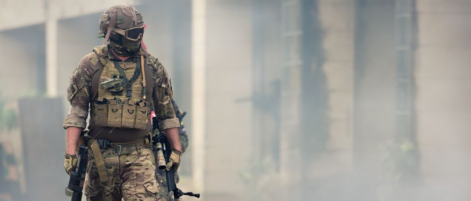 Military officer Afghanistan