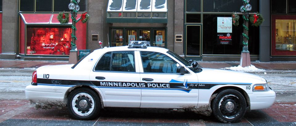 Minneapolis Police Department Cruise parked in downtown Minneapolis. Photo by Shutterstock.