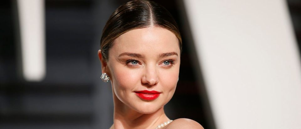 89th Academy Awards - Oscars Vanity Fair Party - Beverly Hills, California, U.S. - 26/02/17 Model Miranda Kerr. Reuters/Danny Moloshok