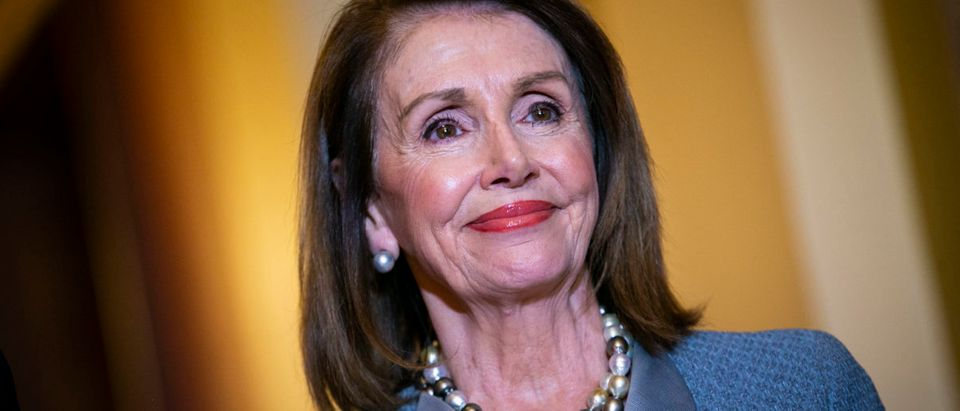Speaker Nancy Pelosi Meets With NATO Secretary General Jens Stoltenberg (Al Drago/Getty Images)