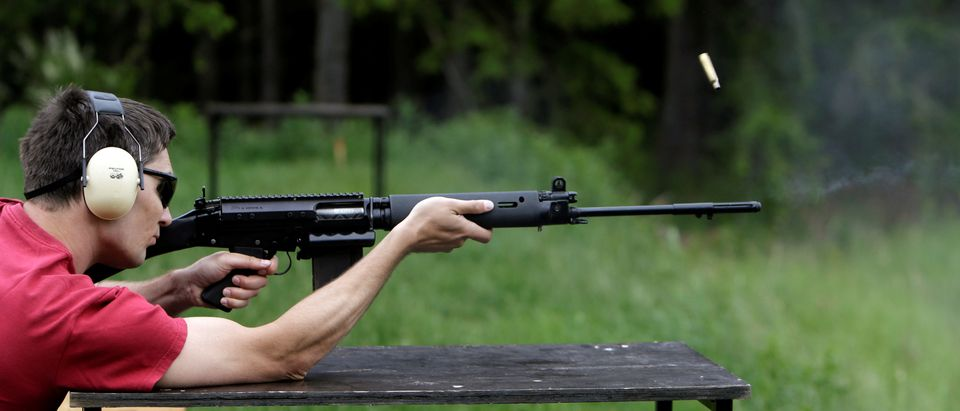 Man Shoots Rifle At Czech Republic Gun Range