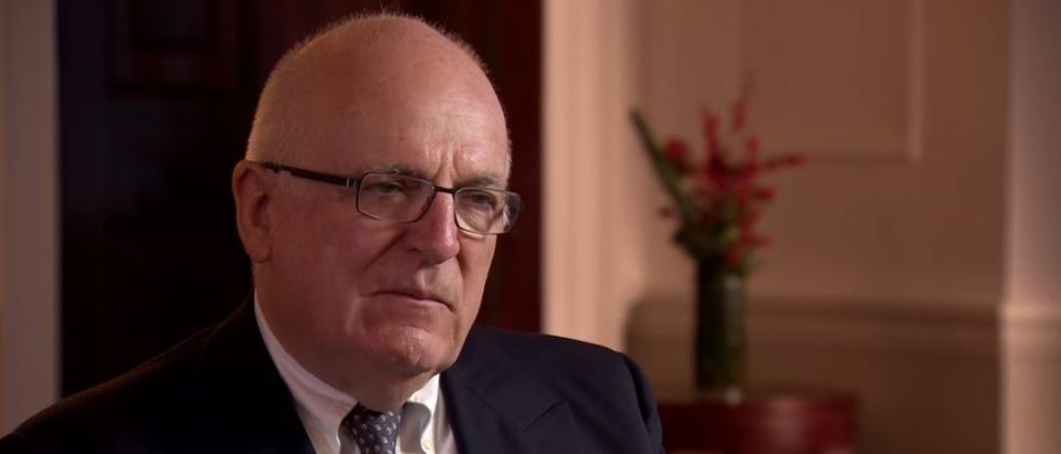 Sir Richard Dearlove interview with BBC Newsnight (YouTube screen grab/BBC Newsnight)
