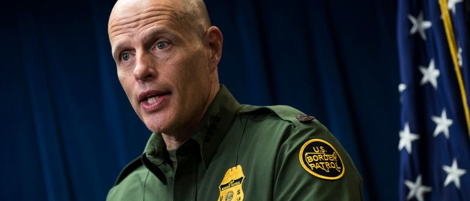 WASHINGTON, DC - DECEMBER 5: Ronald D. Vitiello, Acting Deputy Commissioner of U.S. Customs and Border Protection (CBP), speaks during a Department of Homeland Security press conference to announce end-of-year numbers regarding immigration enforcement, border security and national security, December 5, 2017 in Washington, DC. (Photo by Drew Angerer/Getty Images)