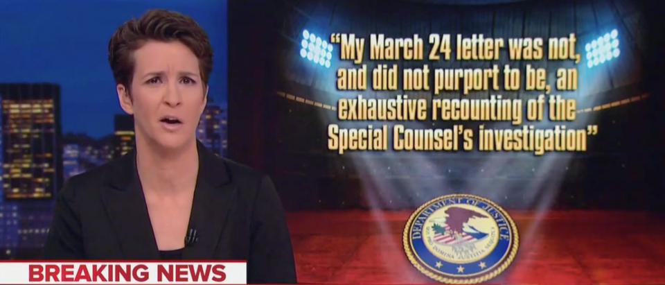 Rachel Maddow (MSNBC Screenshot)