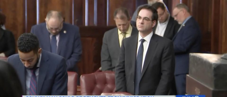 NYC Councilman Kalman Yeger (YouTube screenshot from KIX11)