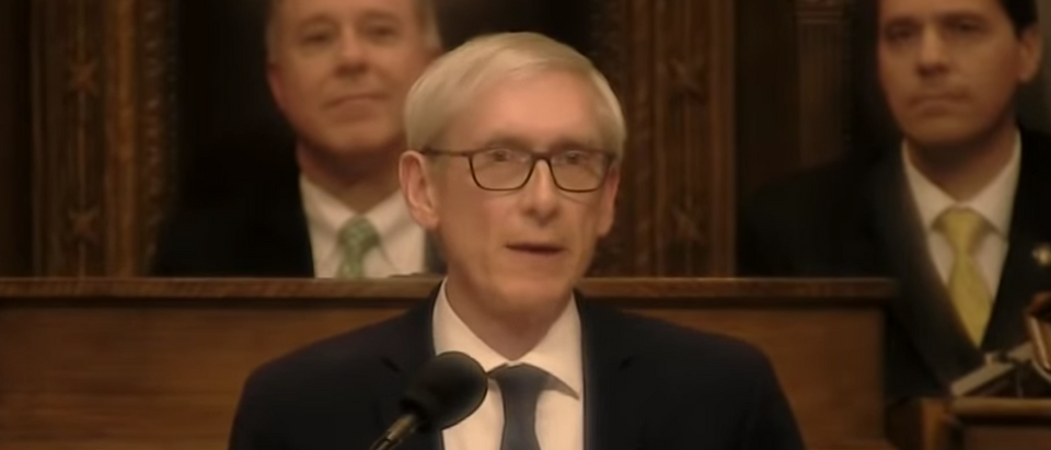 Wisconsin Gov. Tony Evers. Youtube screenshot/Wisconsin Eye