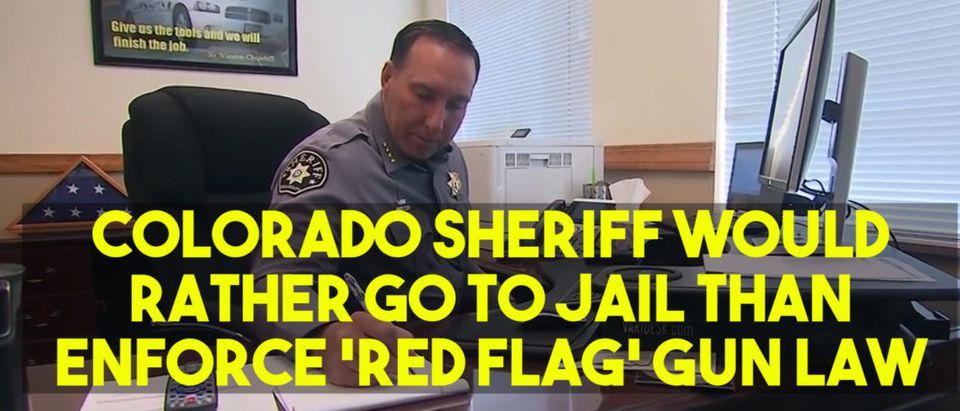 Colorado Sheriff Steve Reams, Screen Shot Youtube CBS47