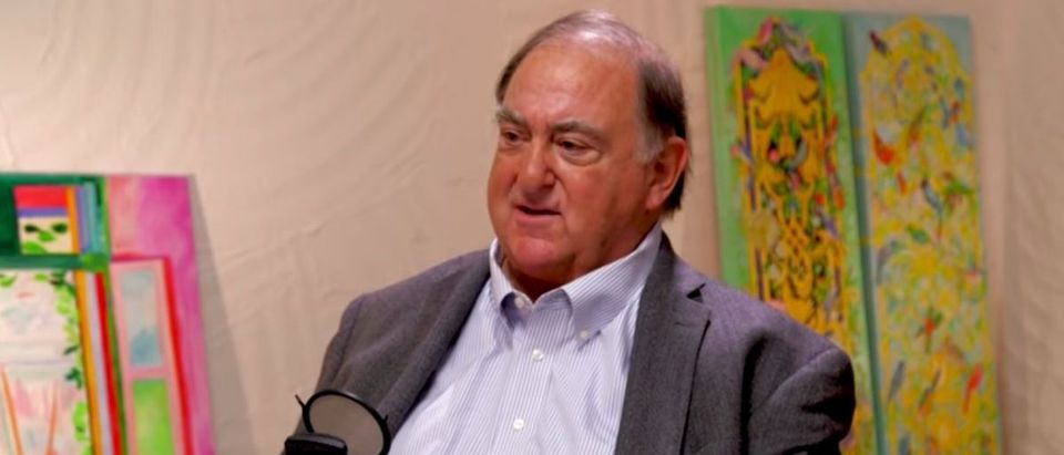 Stefan Halper on Bill Walton Show, May 8, 2018. (YouTube screen grab)