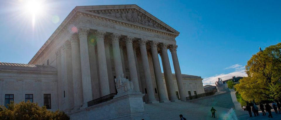 The United states Supreme Court as seen on April 15, 2019. (Eric Baradat/AFP/Getty Images)