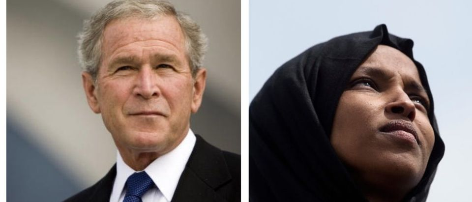 George W. Bush And Ilhan Omar