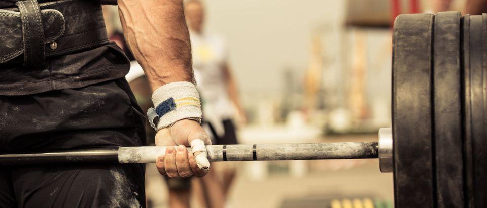 Weightlifter (Shutterstock/ESB Professional)
