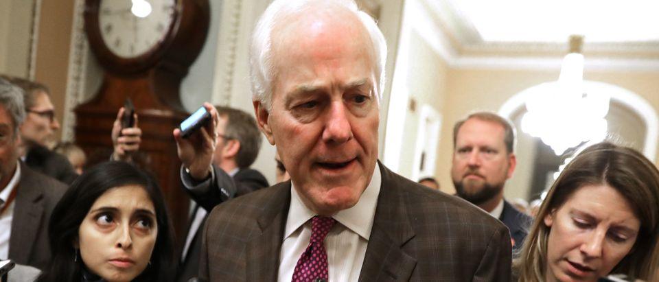 Senate Continues Debate On Criminal Justice Reform Bill