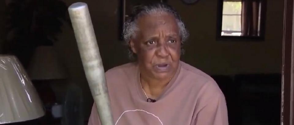 Great Grandma Fights Off Burglar With Baseball Bat (Fox 35 News)
