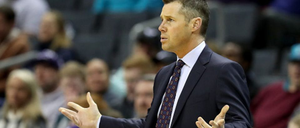 Kings Head Coach Dave Joerger