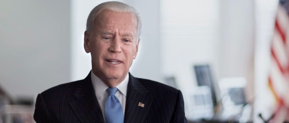 Former Vice President Joe Biden speaks about consent Video screenshot/Makers