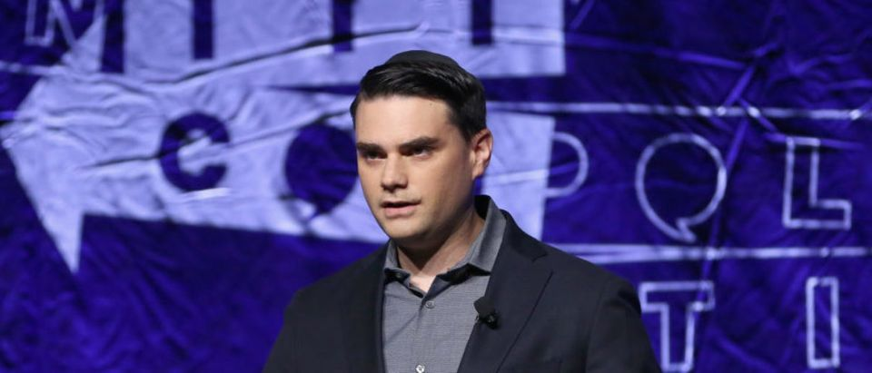 Ben Shapiro speaks onstage during Politicon 2018 at Los Angeles Convention Center on October 21, 2018 in Los Angeles, California. Rich Polk/Getty Images for Politicon