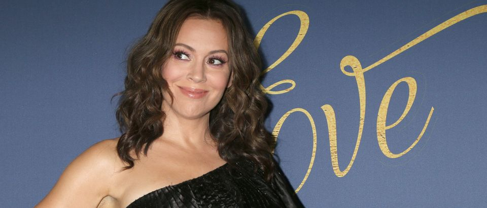 Alyssa Milano Pushes Back Againt Heartbeat Bill Shutterstock Kathy Hutchins