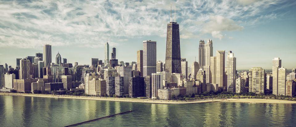 FOP protests in Chicago Shutterstock marchello74