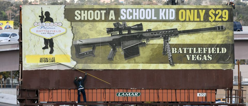 Anti-Gun Billboard