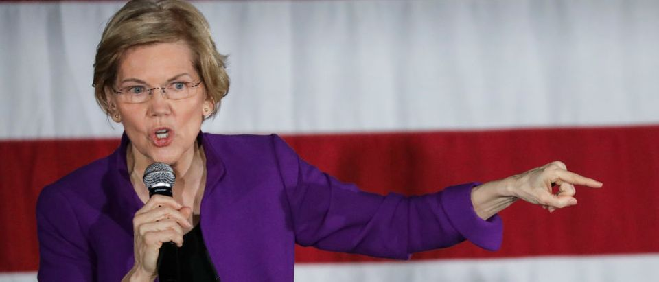 Elizabeth Warren Holds Organizing Event In NYC