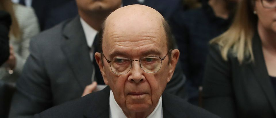 U.S. Commerce Secretary Wilbur Ross appears before the House Oversight and Reform Committee on March 14, 2019 in Washington, D.C. (Photo by Mark Wilson/Getty Images)