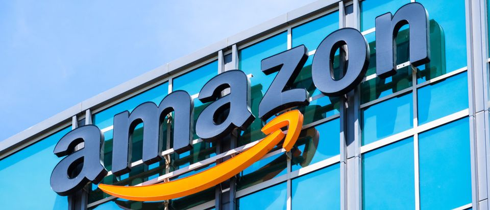 The Amazon logo is pictured. (Shutterstock/Sundry Photography)
