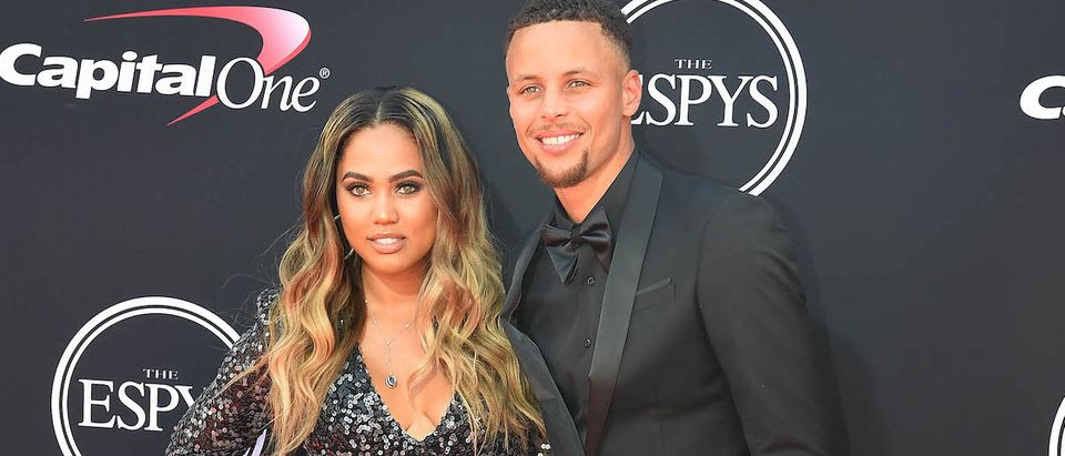 Golden State Warriors player Stephen Curry and wife Ayesha Curry arrive for the 2017 ESPYS at Microsoft Theater. Mandatory Credit: Jayne Kamin-Oncea-USA TODAY Sports/Reuters