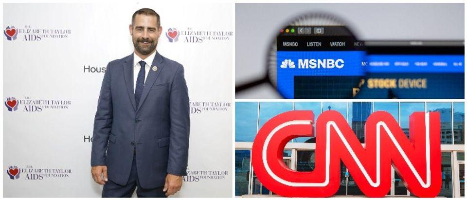 Brian Sims (Rachel Murray : Stringer), MSNBC:CNN photos (Shutterstock)