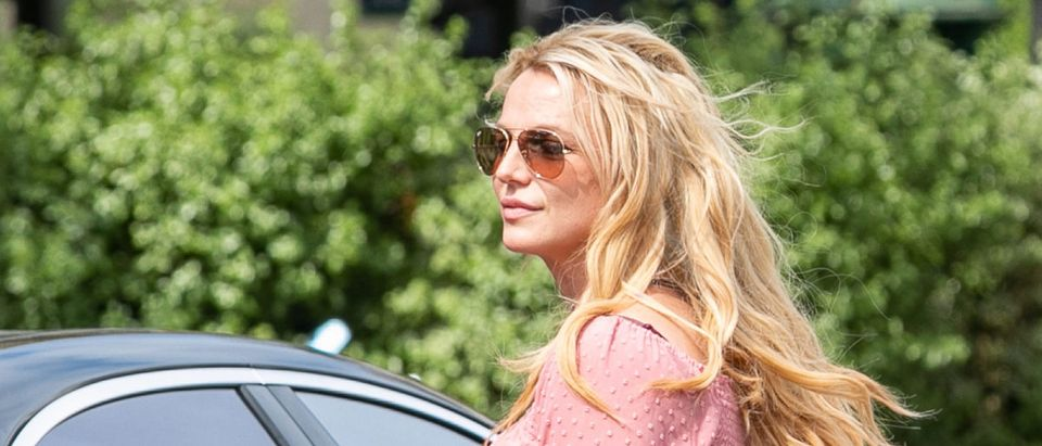 Britney Spears Sighting In Paris - August 27, 2018