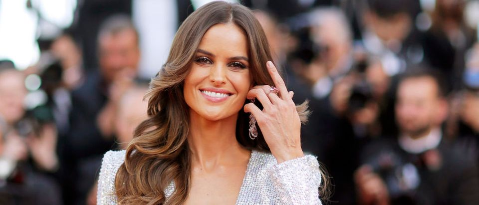 "72nd Cannes Film Festival - Screening of the film ""Rocketman"" out of competition - Red Carpet Arrivals - Cannes, France, May 16, 2019. Izabel Goulart poses. REUTERS/Stephane Mahe"