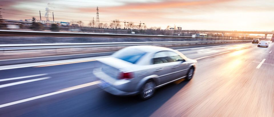 A man drove the wrong way. SHUTTERSTOCK