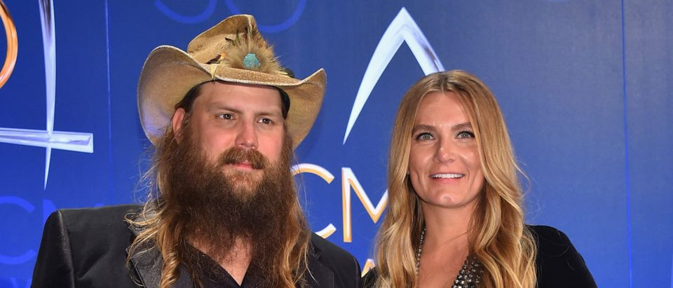 The 50th Annual CMA Awards - Press Room