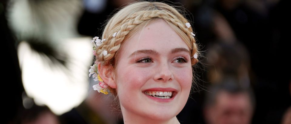 """72nd Cannes Film Festival - Screening of the film """"Les Miserables"""" in competition - Red Carpet Arrivals - Cannes, France, May 15, 2019. Jury Member of the 72nd Cannes Film Festival Elle Fanning. REUTERS/Eric Gaillard"""