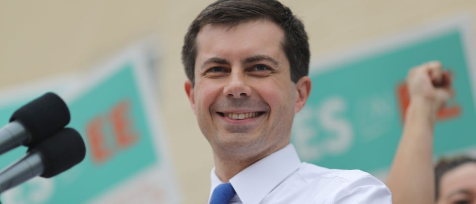 U.S. Democratic presidential candidate Mayor Pete Buttigieg campaigns in Los Angeles
