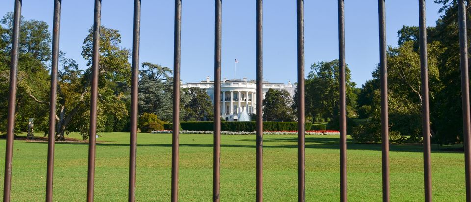 White House Fence. Shutterstock