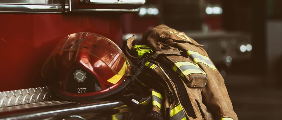 Firefighter gear (Shutterstock/ mat277)