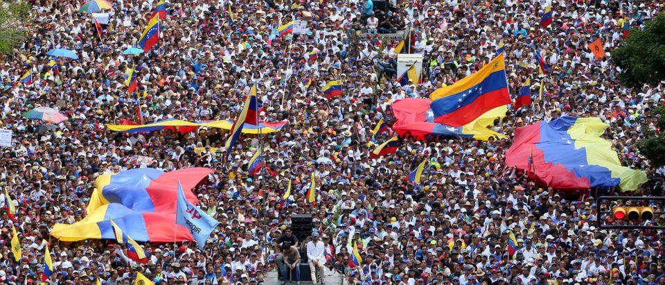 Opposition Protest In Venezuela